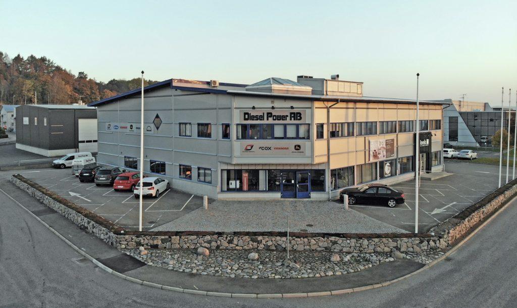 Diesel Powers kontor på Kungsparksvägen i Kungsbacka.